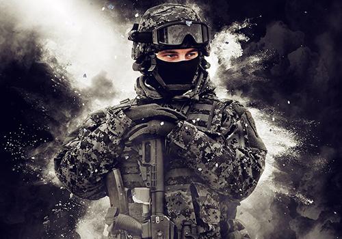 战争烟雾特效PS动作素材 Warfighter 2 Photoshop Action