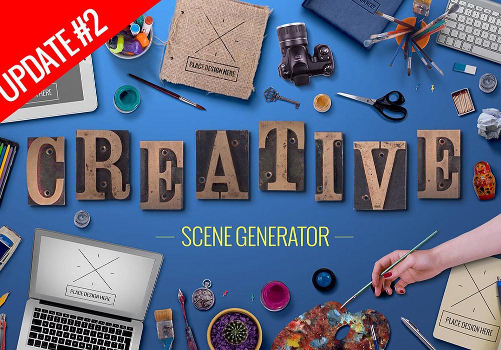高级设计创意场景元素包 Creative Scene Generator