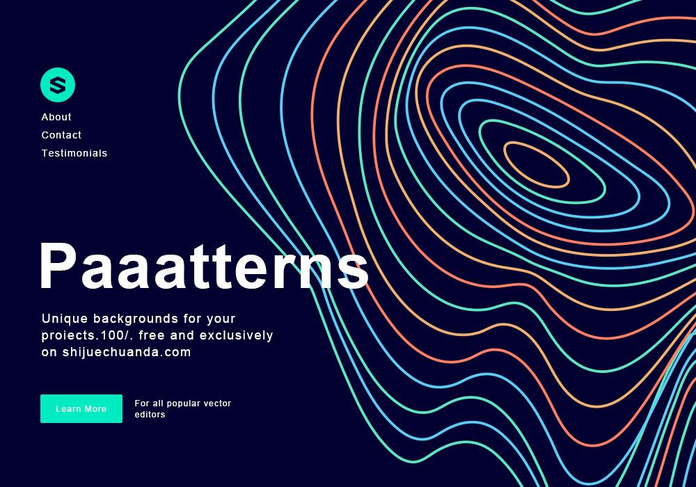 22款矢量图案合集 Paaatterns(附PSD设计参考)
