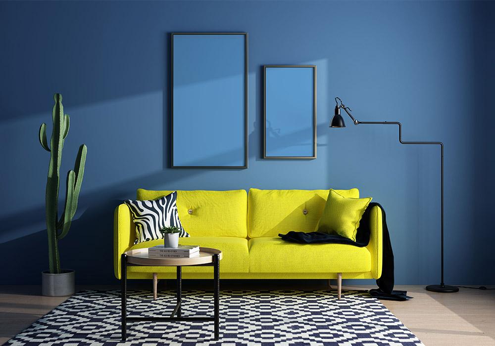 室内海报艺术样机模板 Picture Art Mockup