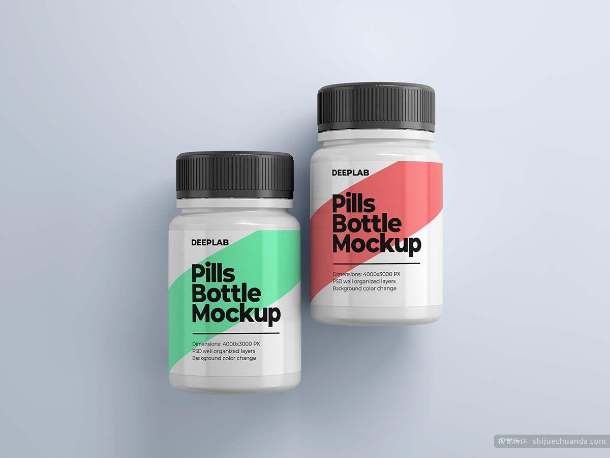 11套医疗药瓶样机 Medical Pill Bottle Mockup