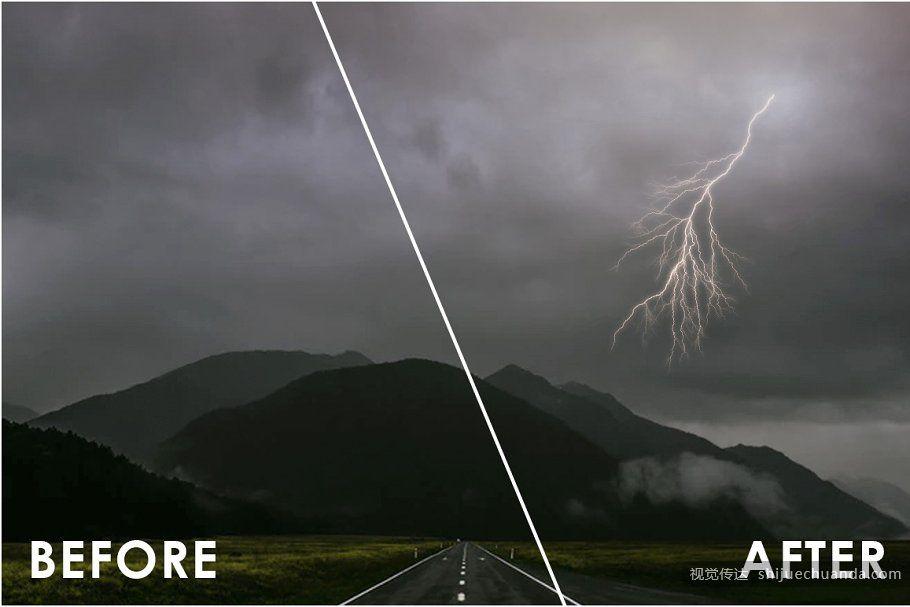 150种天气PS笔刷合集 Weather Photoshop Brushes