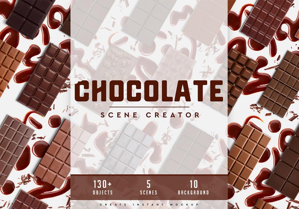 巧克力场景生成器模板 Chocolate Scene Creator