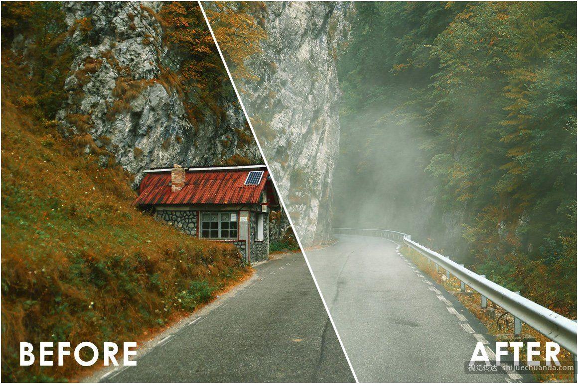 逼真的雾效果叠加层 Fog Effect Overlays