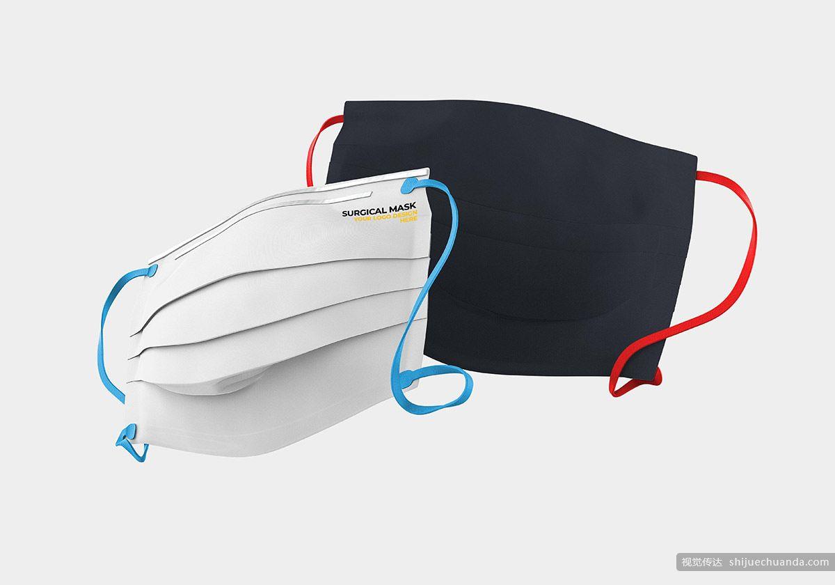医用口罩样机PSD样机模板