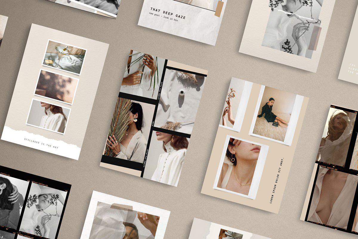 网络推广社交工具包 Paper and Film Social Kit