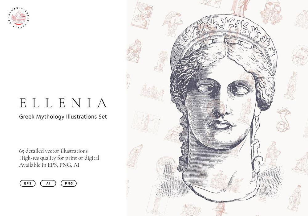 希腊神话人物系列合集 Greek Mythology Set