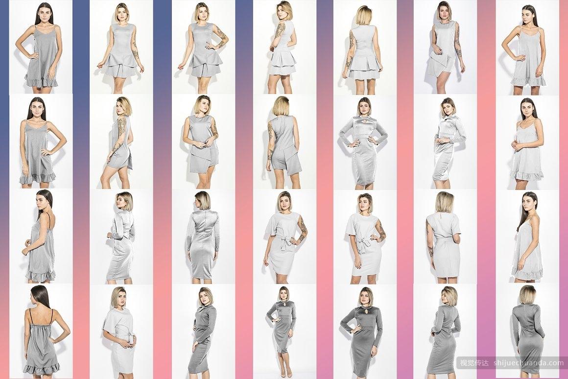 女性时尚服饰样机合集