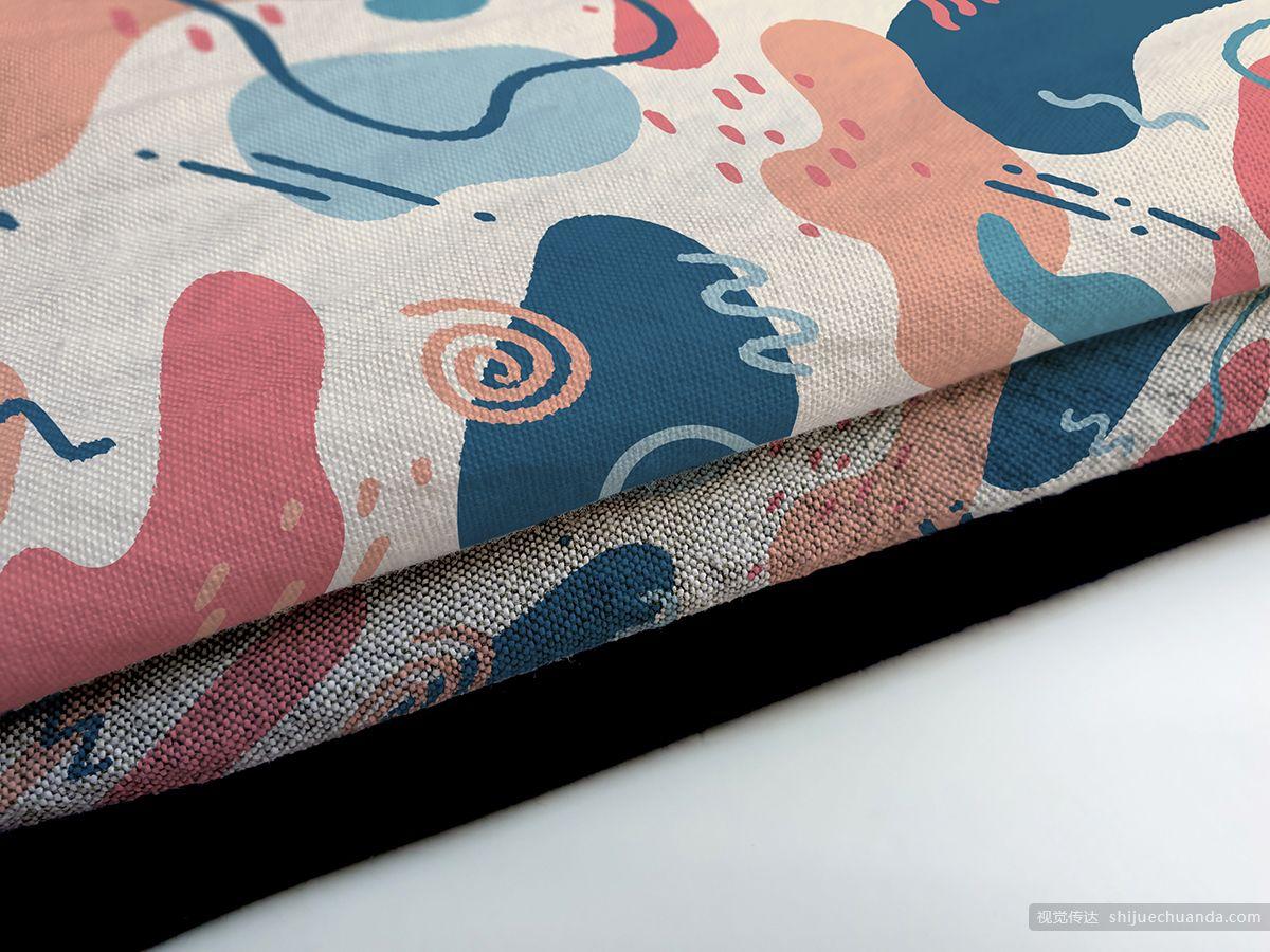 纺织物品样机模板 Fabric Mockups Bundle