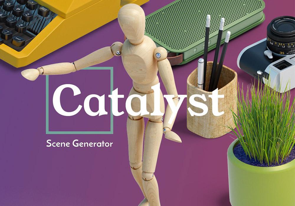 高端桌面场景生成器 Catalyst Scene Generator