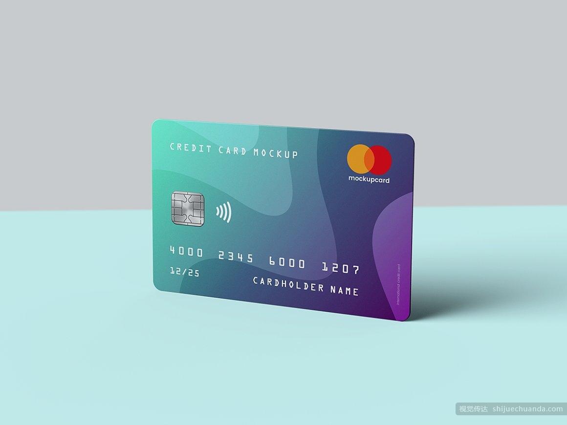 信用卡/会员卡/银行卡样机