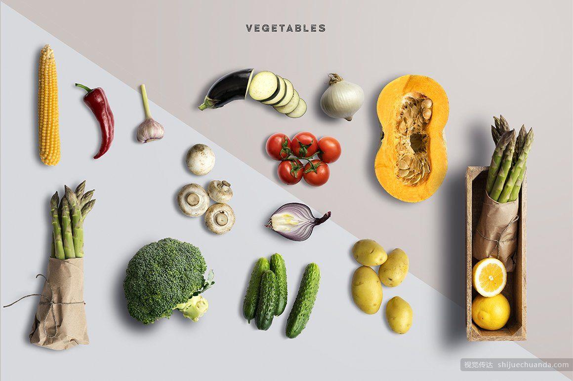 生态食品样机场景创建器