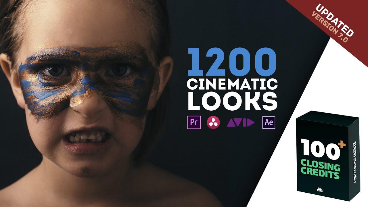 1300个电影外观LUTs颜色预设包