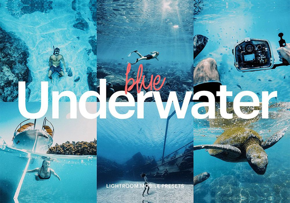 水下蓝色LR预设
