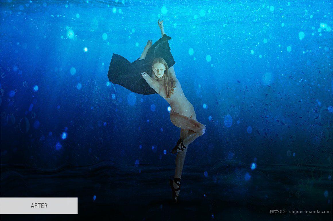 水下效果PS叠加层