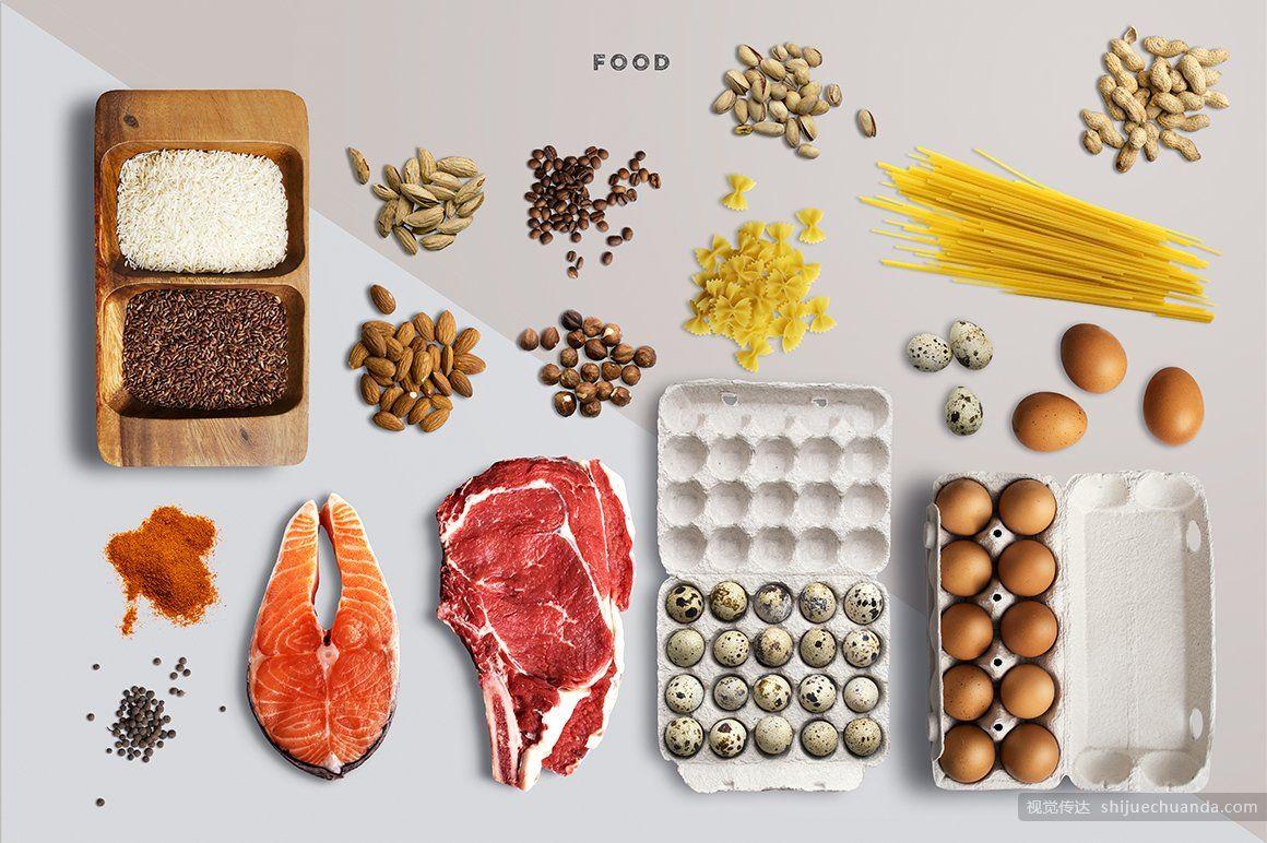 健康食品样机模板