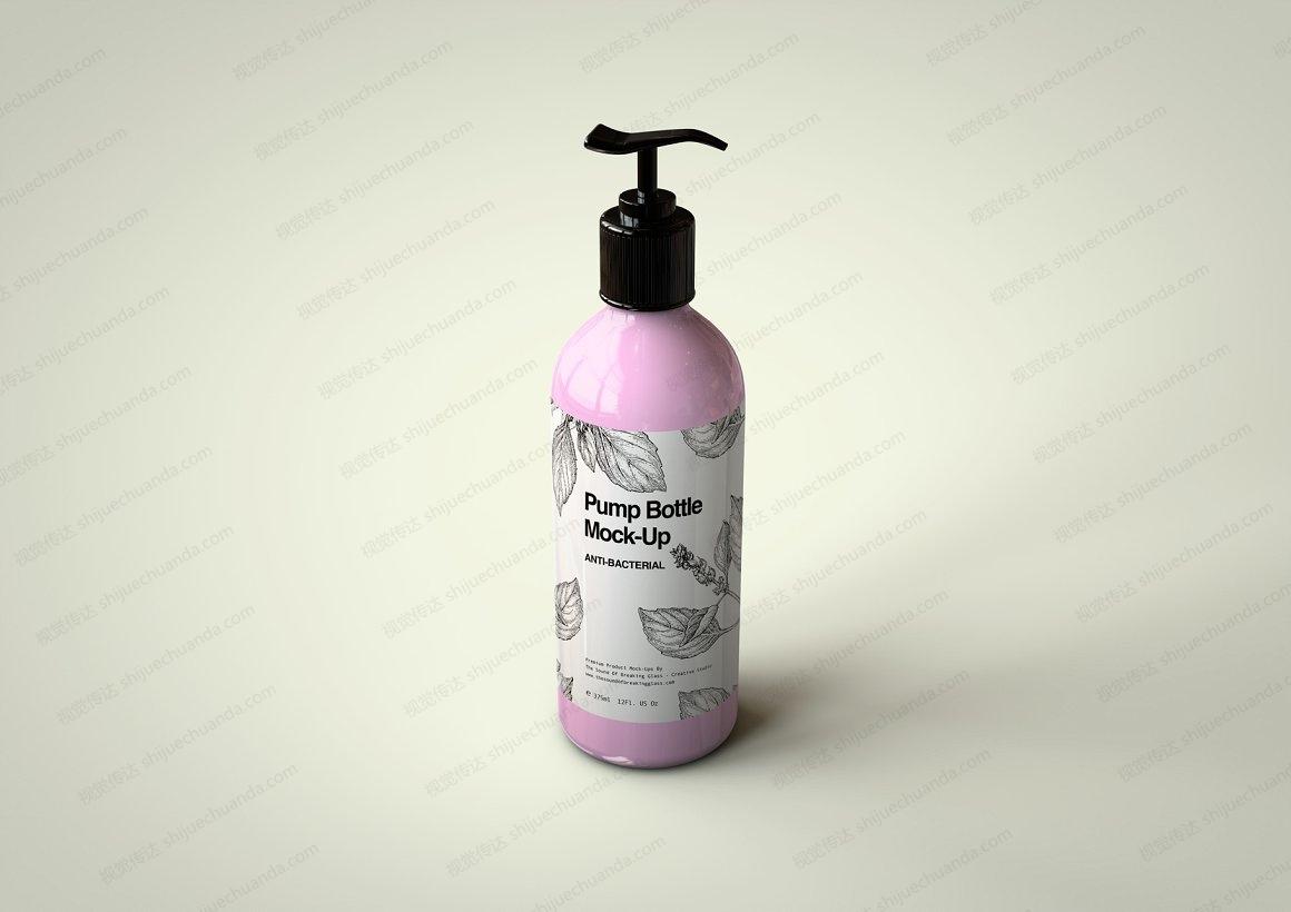洗手液/洗面奶/洗发水样机模型