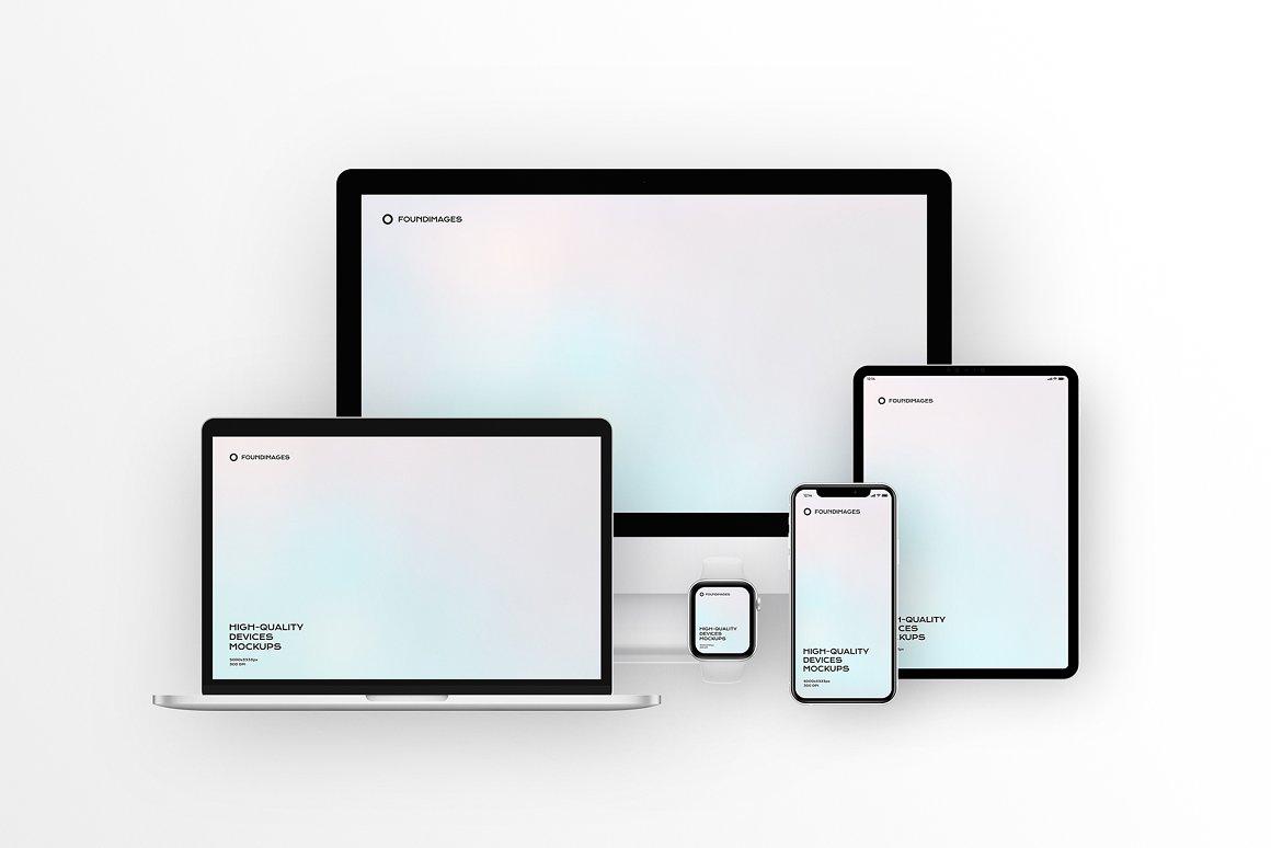 苹果设备场景智能样机合集