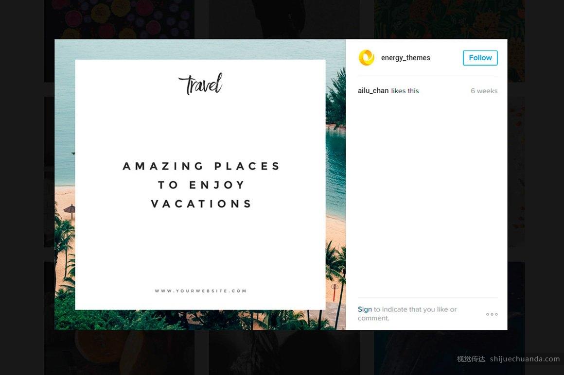 100个社交媒体广告模板