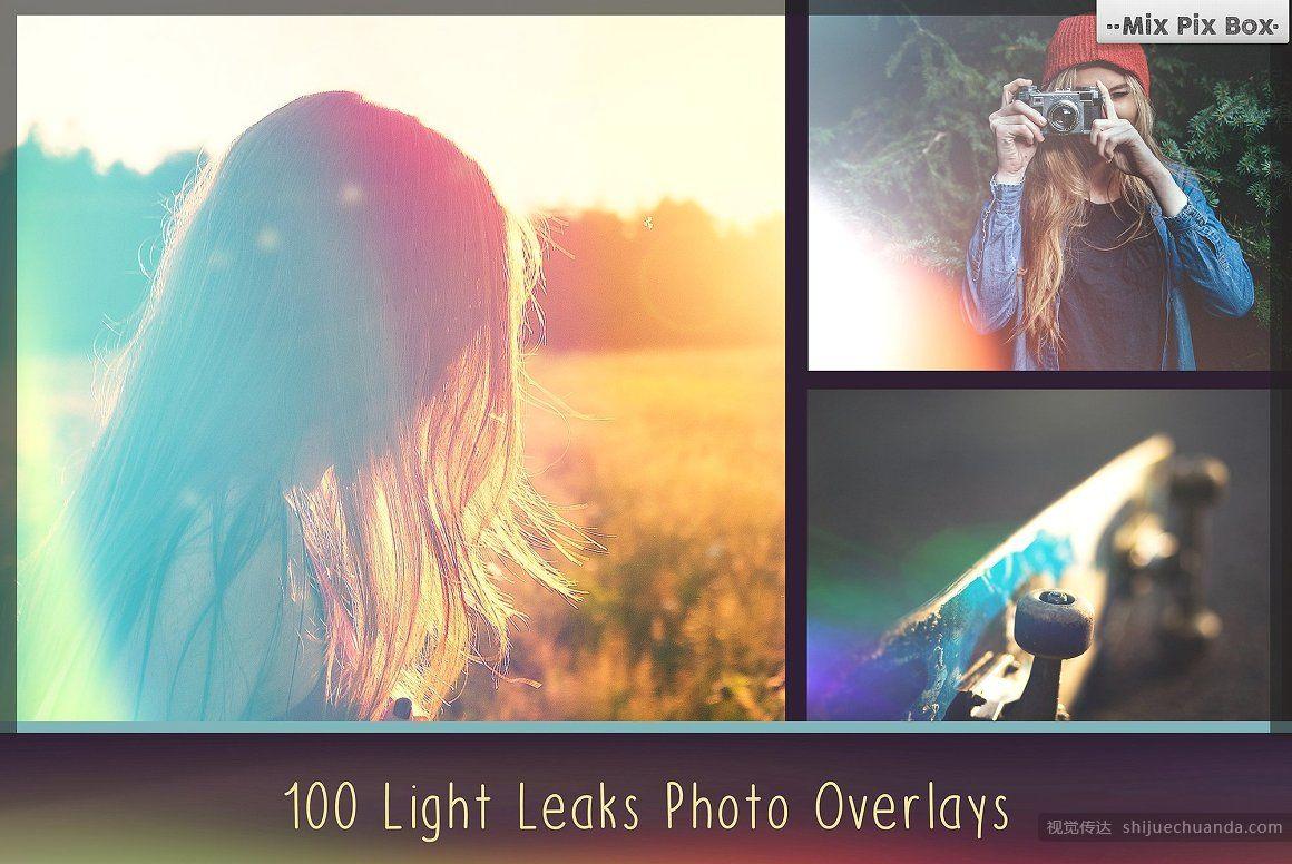 900多个高端照片叠加包