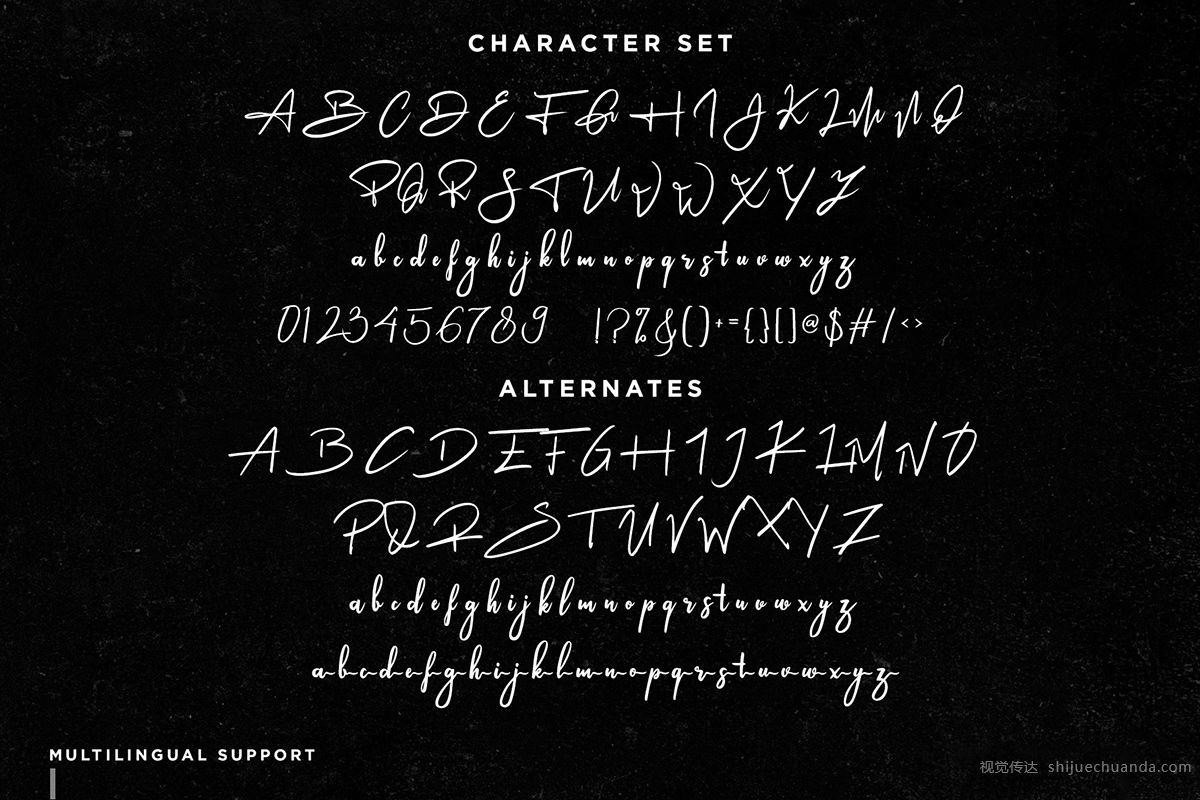 Ameliona字体