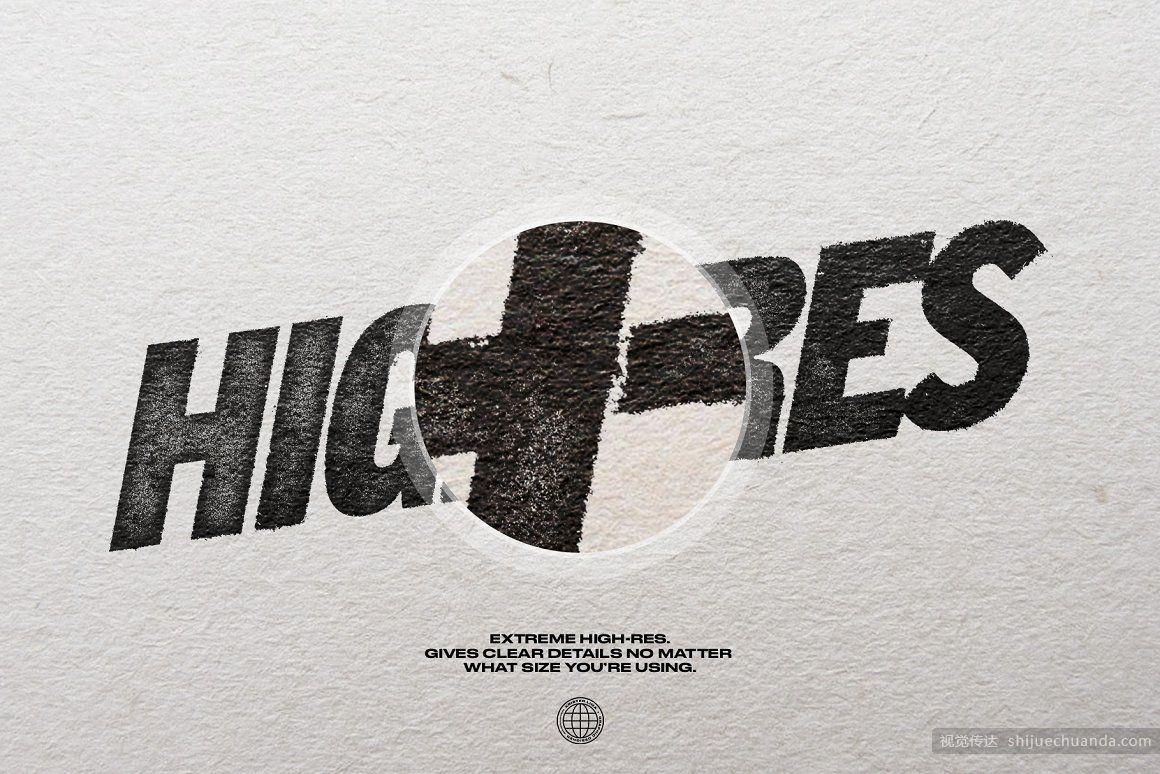 一键式墨水压印机效果