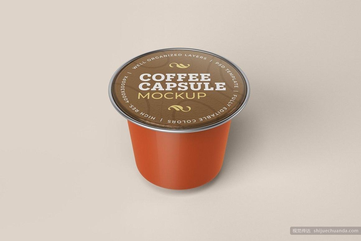 咖啡胶囊/星球杯/样机模板