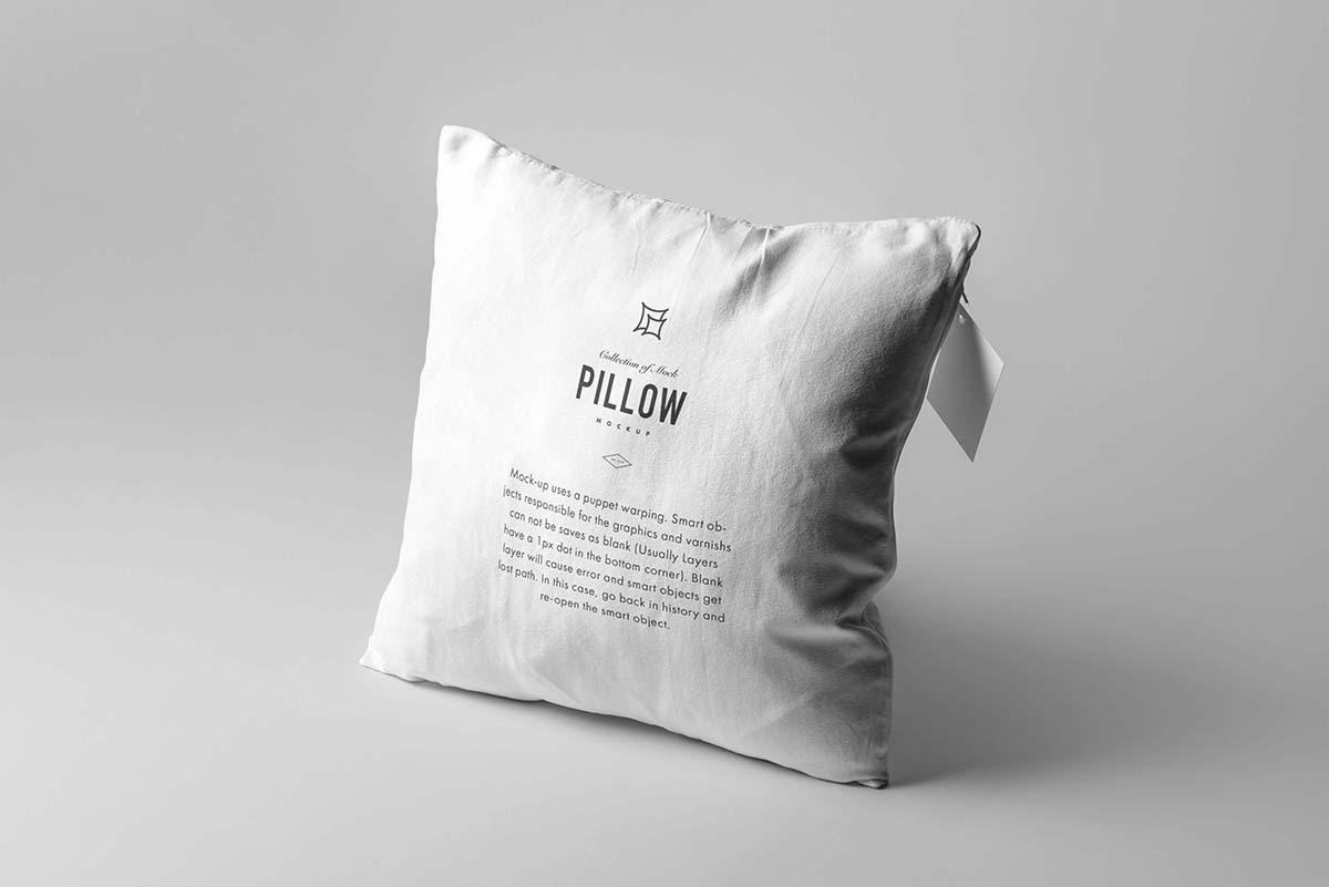 6个角度枕头抱枕模型样机