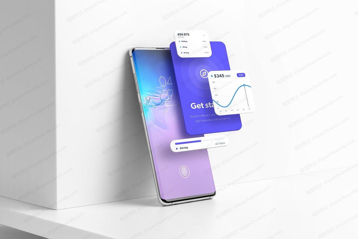 三星Galaxy S10 智能手机样机