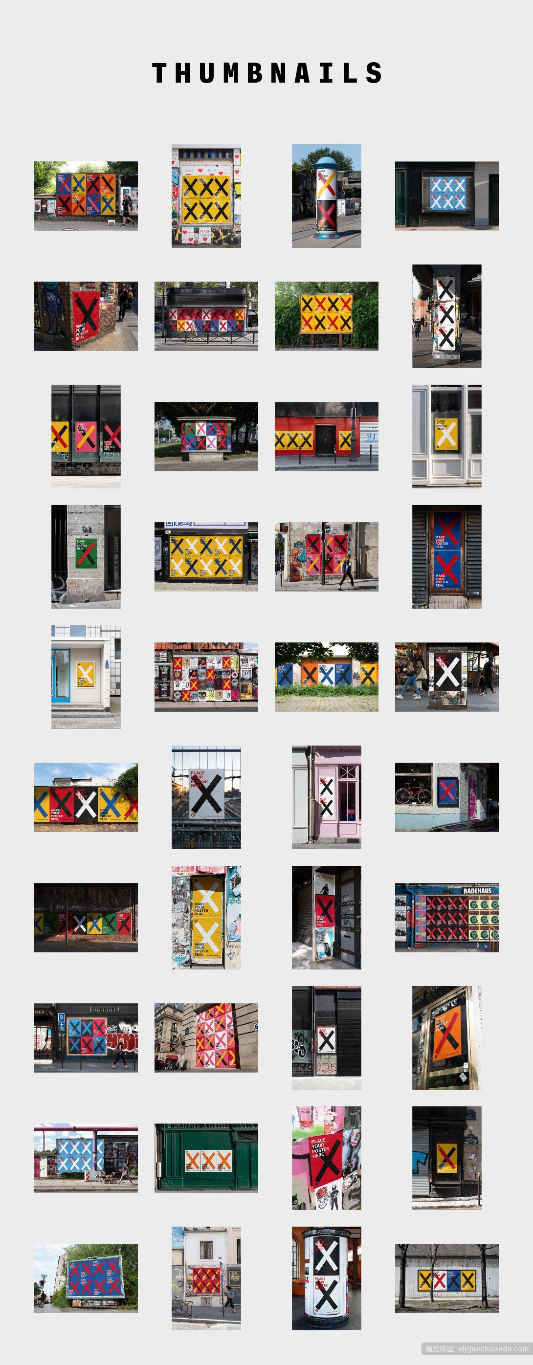 40款城市海报样机合集