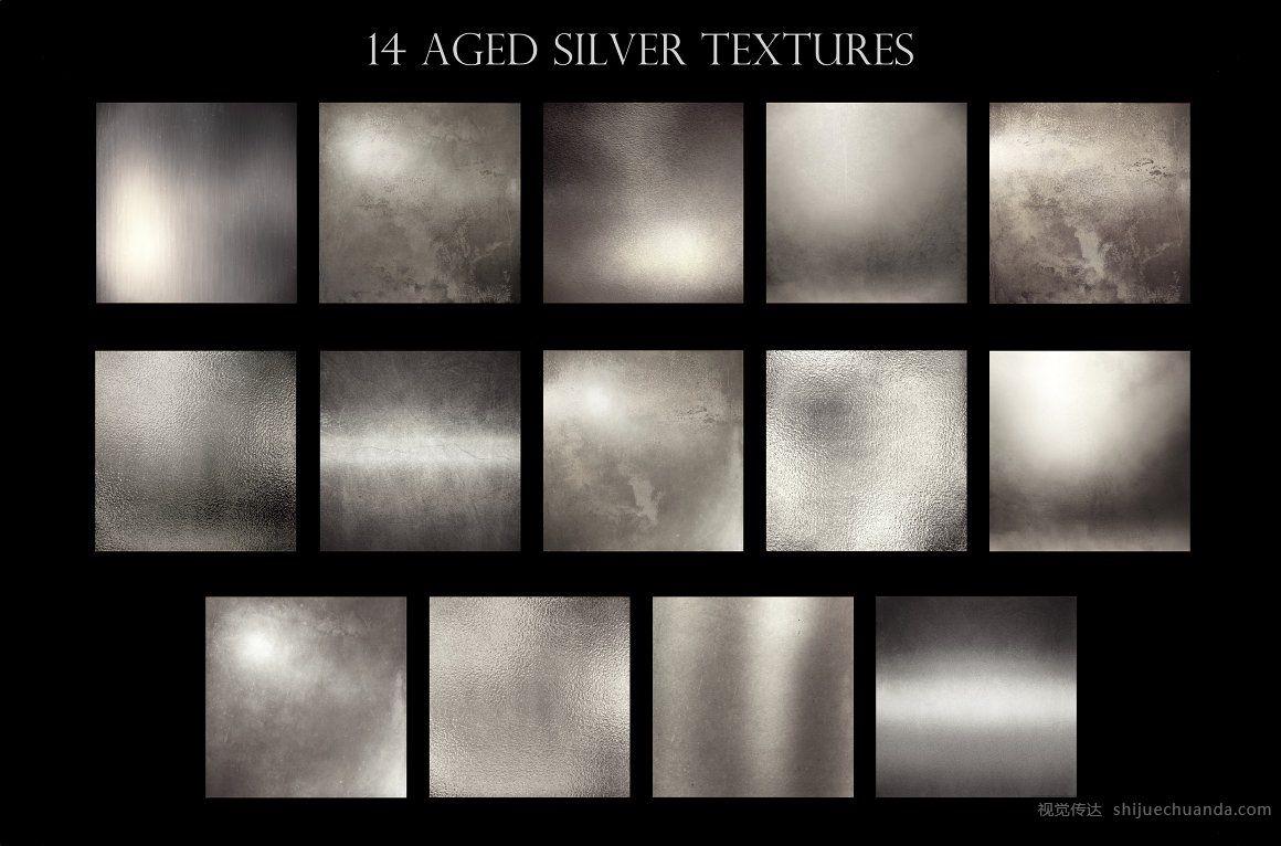 金属质感纹理背景素材包