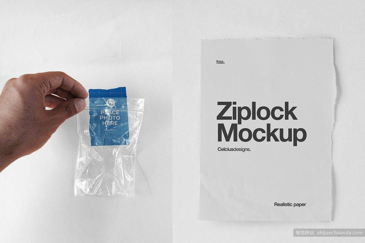 透明密封塑料袋样机