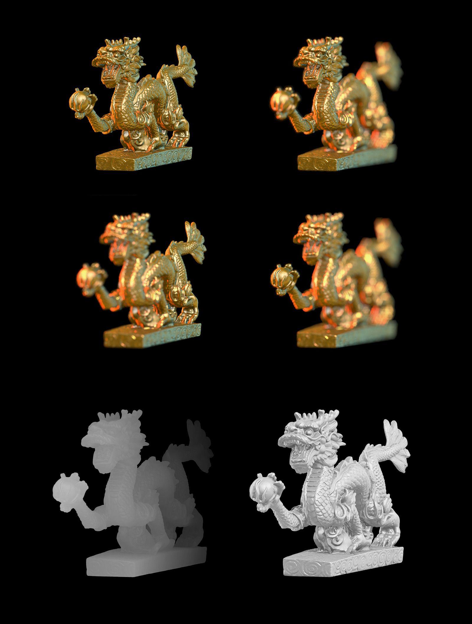 128个艺术雕塑模型合集