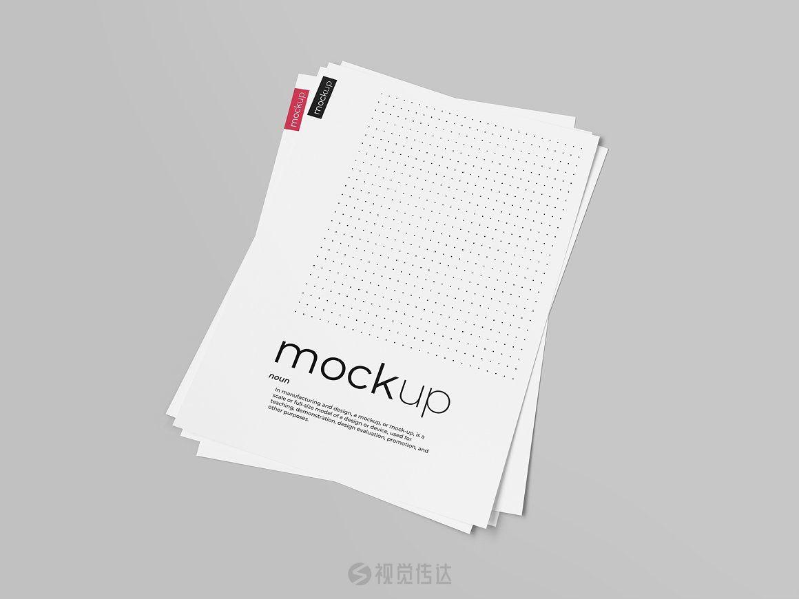 传单/海报/简历样机模板