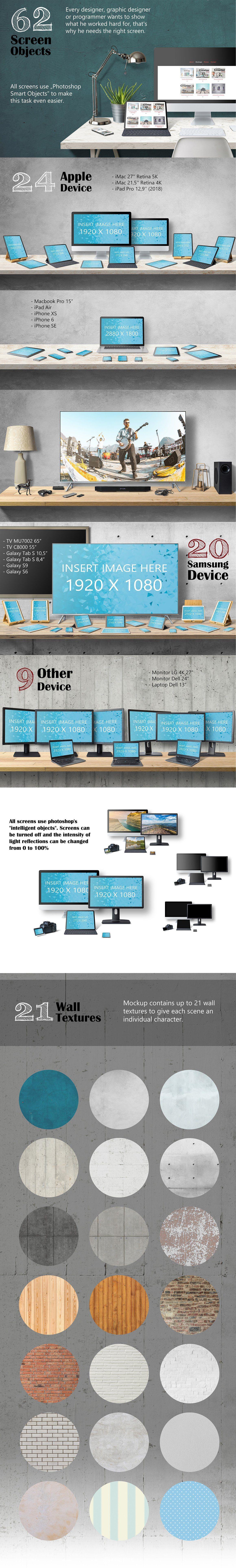 5K高清电脑桌面场景创建器