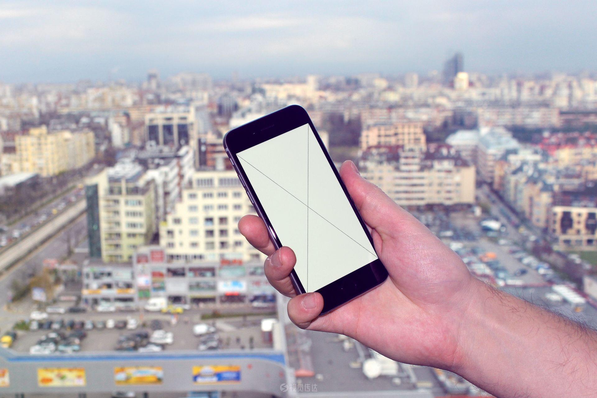 6个真实手机场景样机模板