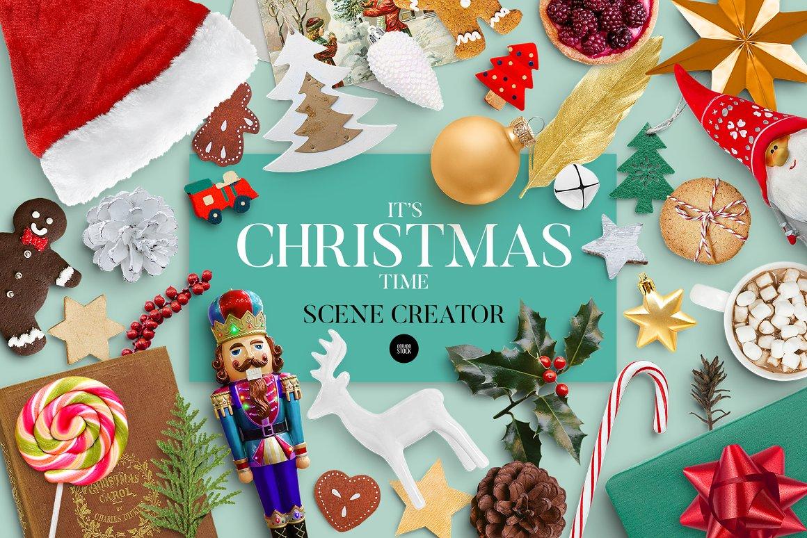 圣诞节场景元素合集 Christmas Scene Creator