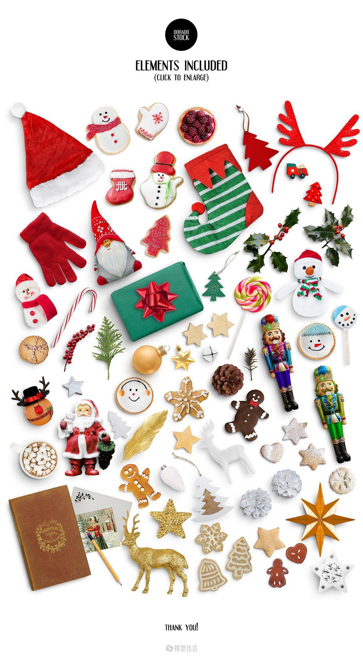 圣诞节场景元素合集