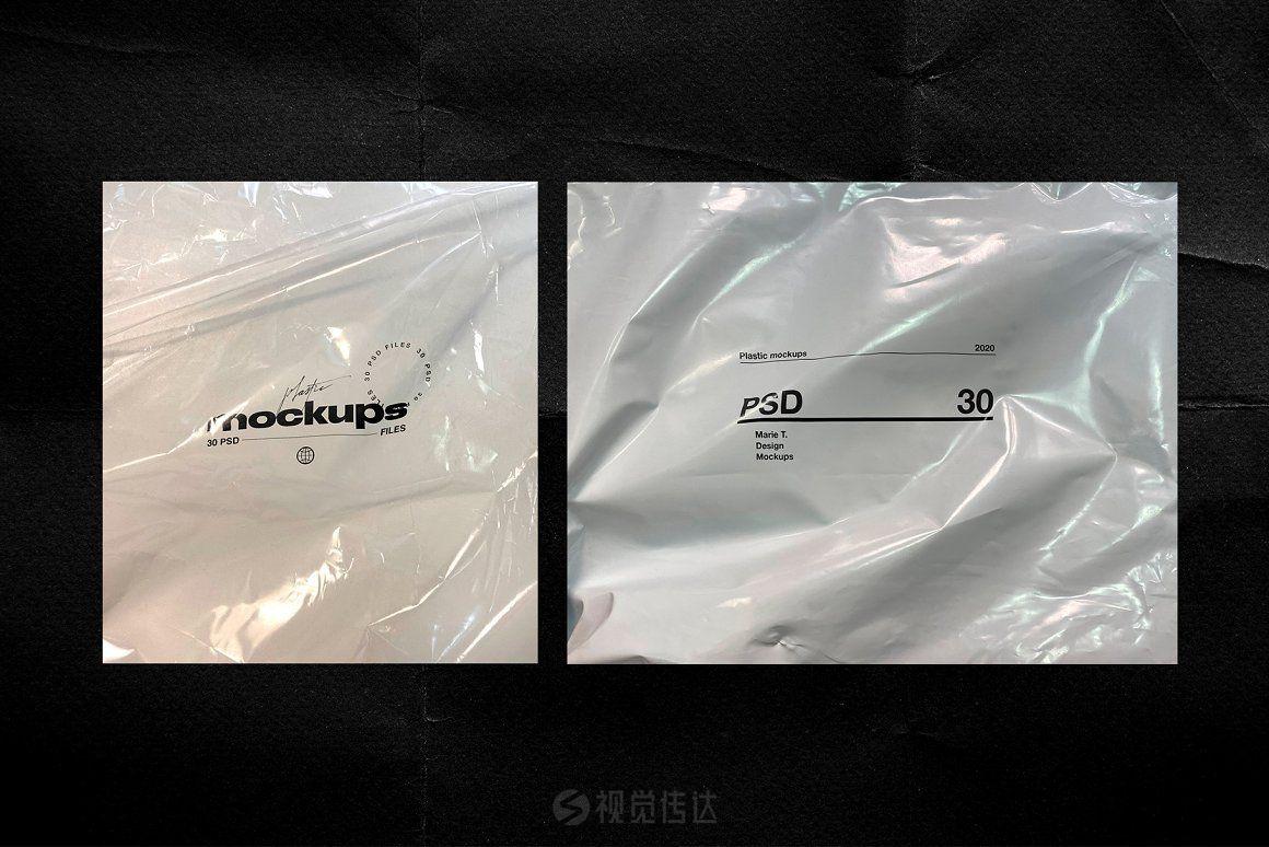 30个PSD塑料样机模板