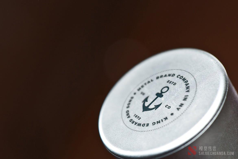 金属Logo徽标样机