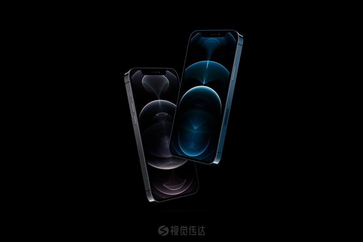 20个 iPhone 12 Pro 场景样机模板