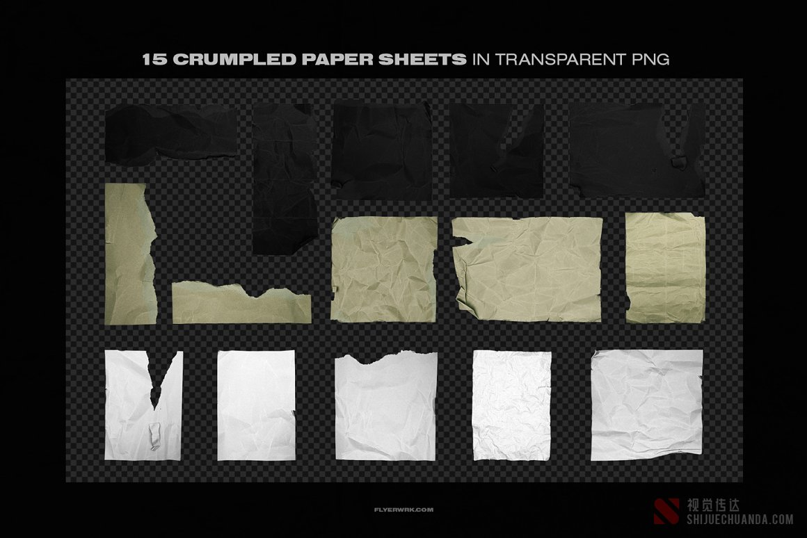 塑料袋/胶带/金属箔片/贴纸/皱纸工具包
