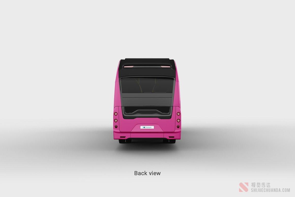 公交车电动巴士样机