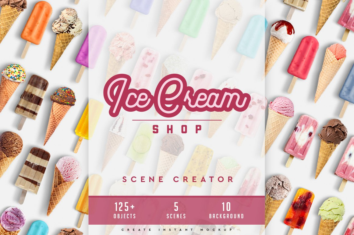 冰淇淋场景创建者 Ice Cream Scene Creator