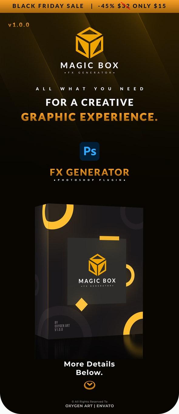 魔术盒高级的photoshop插件