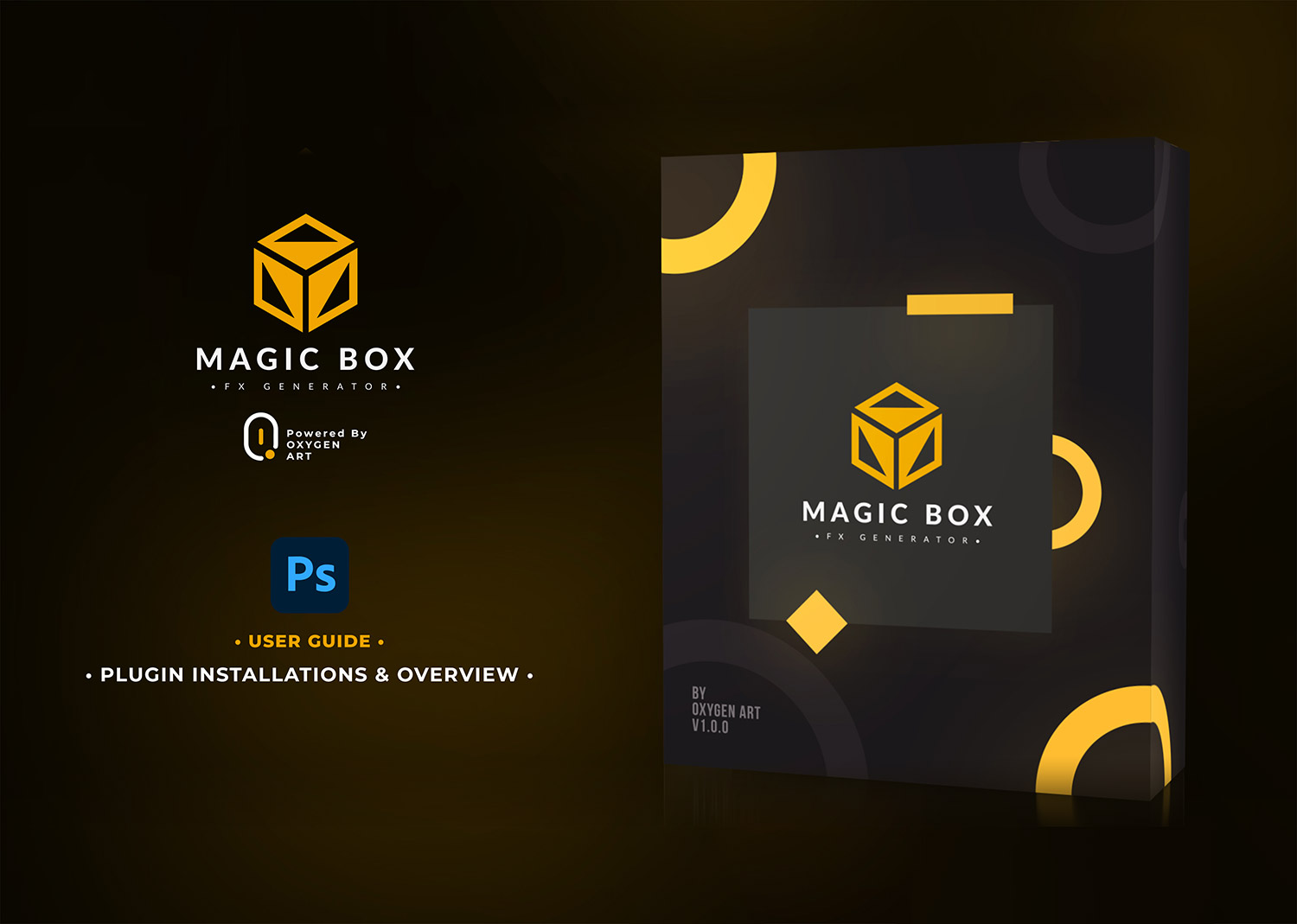 魔术盒高级的photoshop插件 Magic Box-FX Generator