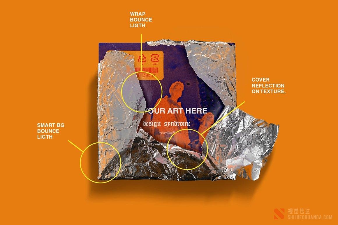 金属包装样机包
