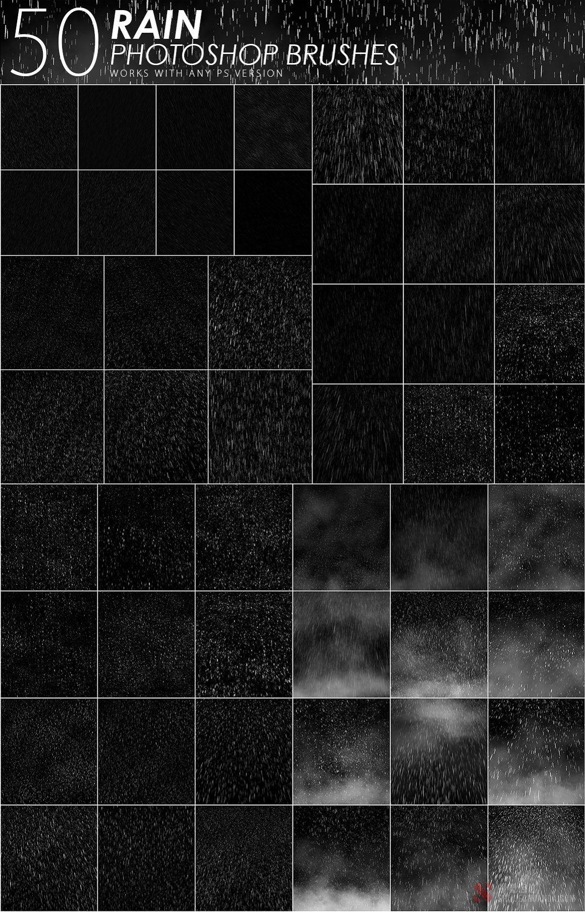 5600套PS笔刷大合集 Photoshop Brushes Mega Bundle