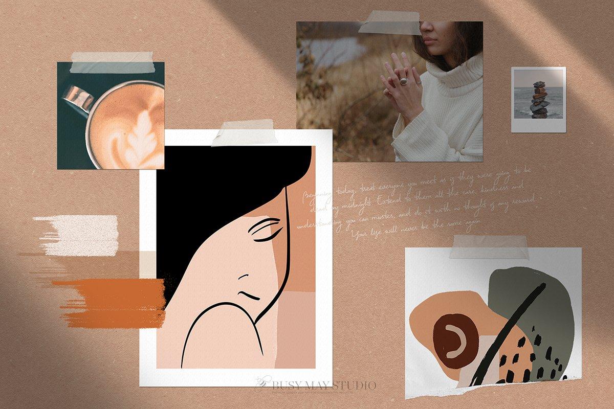抽象艺术形状元素合集