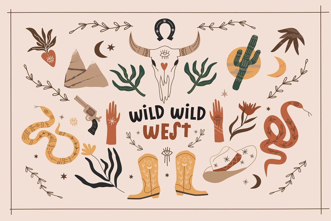 狂野西部元素合集 Wild Wild West Bundle